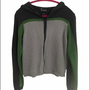 American Eagle Outfitters performance zipup hoodie